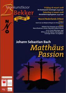 Flyer Matthaeus Passion 2018