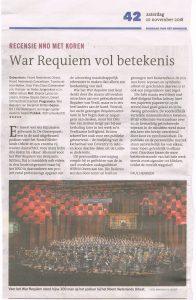 Recensie War Requiem