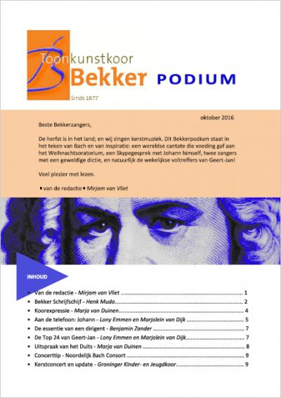 Bekkerpodium 2016-6