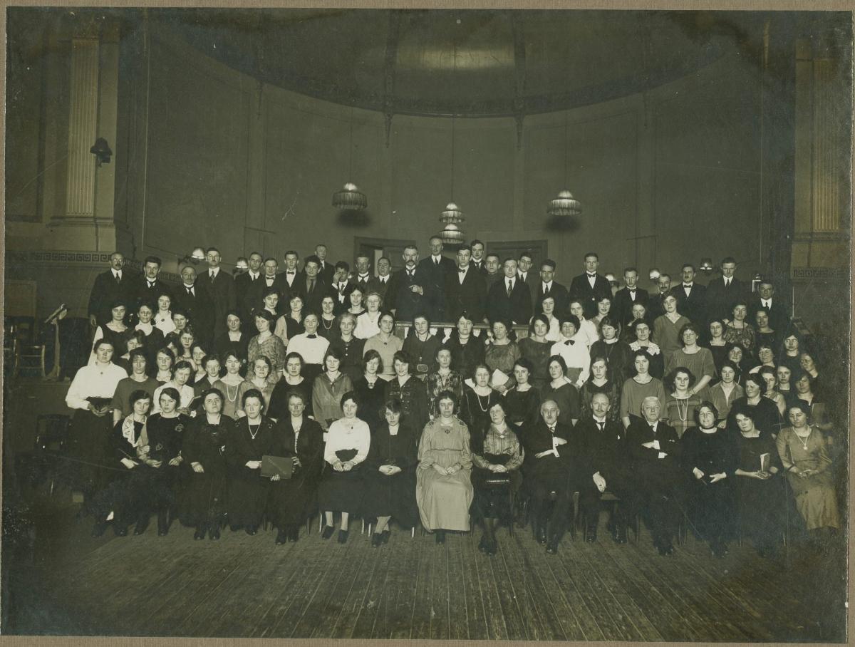 in de Harmonie (1924-26)