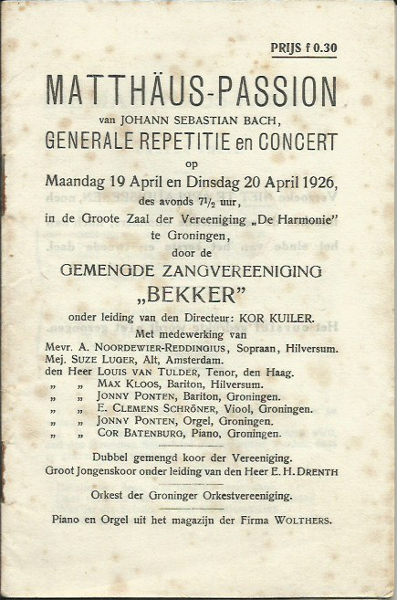 Bach MP 04-1926