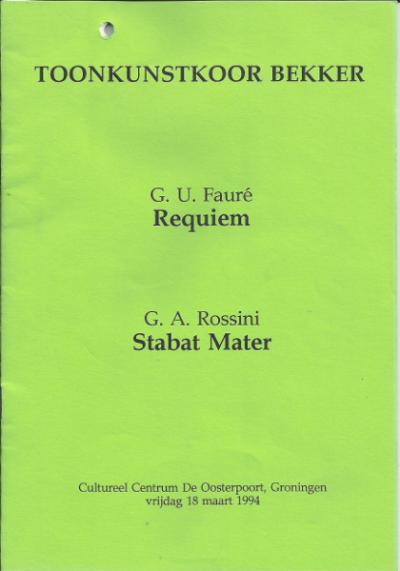 Fauré & Rossini 03-1994