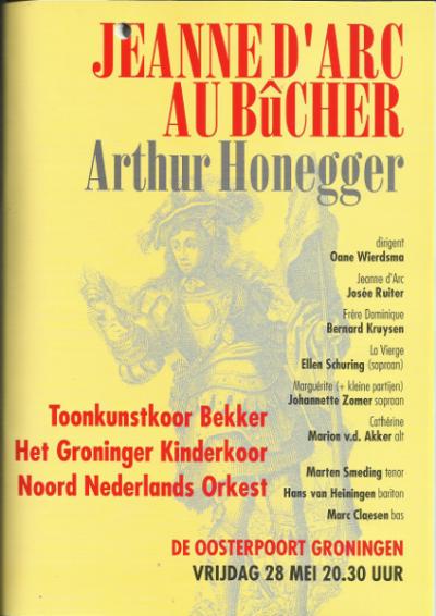 Honegger Jeanne d'Arc 05-1999