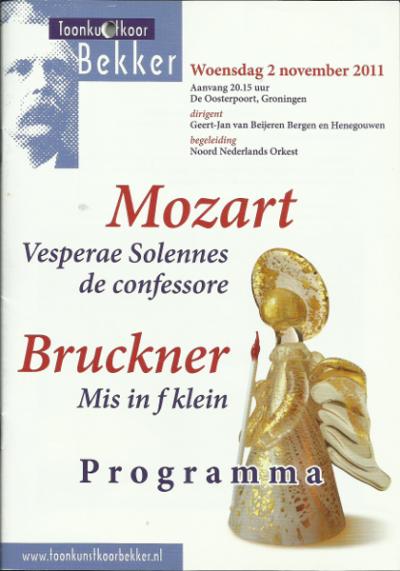 Mozart & Bruckner 11-2011