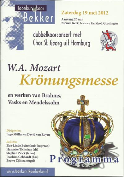 Mozart Krönungsmesse 05-2012