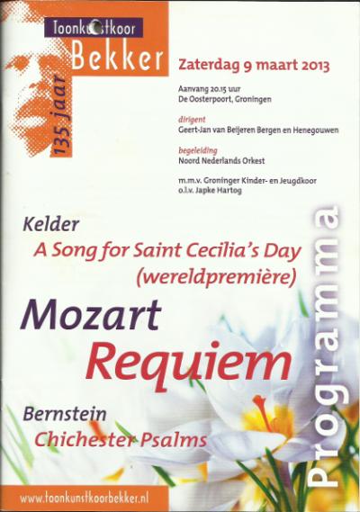 Mozart Requiem 03-2013