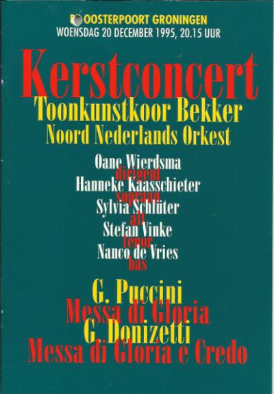 Puccini & Donizetti 12-1995