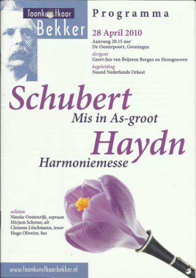 Schubert & Haydn 04-2010