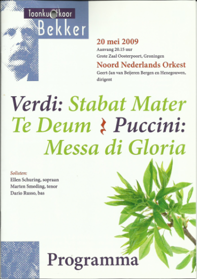Verdi & Puccini 05-2009